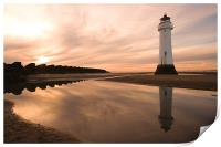 Perch Rock Lighthouse, Print