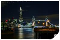 The Shard & Tower Bridge, Print