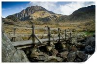 The Bridge to Tryfan, Print