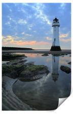 Lighthouse at Perch Rock, Print