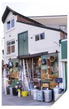 Ironmongers shop, Print