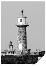 Whitby Lighthouse, Print