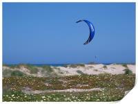 Lone Kite Surfer, Print