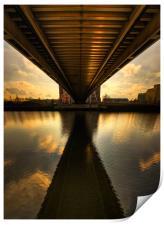 Under The Bridge, Print