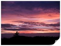 Norfolk Sunset - 2, Print