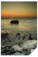 Criel Sur Mer, Print