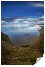 Rhossili Bay, Gower Peninsula,Wales, Print