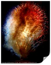 Fireworks display, Print