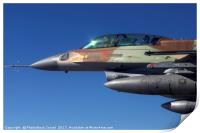 IAF F-16 Fighter jet, Print