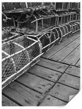 Lobster Traps, Print