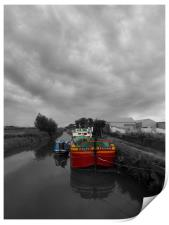 Sequana   Beverley Canal, Print