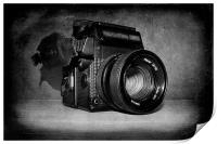 Vintage Camera, Print