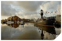 Hull Marina, Print