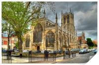 Holy Trinity Church Hull, Print