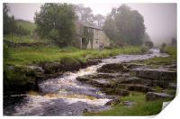 Misty Day (in the Yorkshire Dales), Print