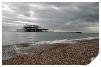 brighton pier, Print