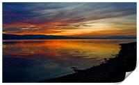 Seaside Sunset, Print