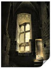 The Castle's Hidden Room, Print