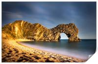 Durdle Door in colour, Print