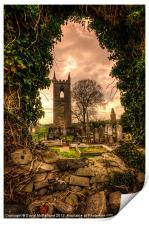 Tullylish Bell Tower, Print