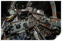 Buccaneer Cockpit, Print