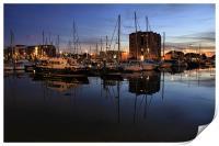harbour nights, Print