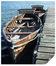 ROWING BOATS FOR HIRE, Print