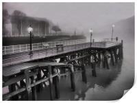 mist the boat, Print