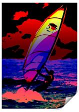 The Wind Surfer, Print