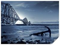 Forth Rail Bridge Scotland, Print
