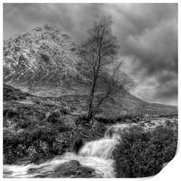 The Buachaille Etive Mor Scotland, Print