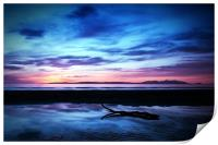 Sunset Over Troon Beach