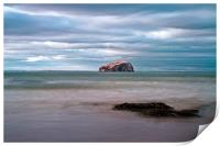 The Bass Rock from Seacliff, Print