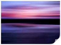Beach Abstract, Print