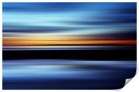 Seaside Abstract, Print