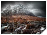 The Mood Of Winter, Scotland, Print