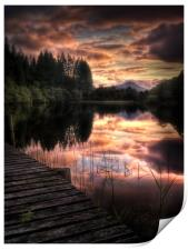 Loch Ard, Summer Dreams, Print