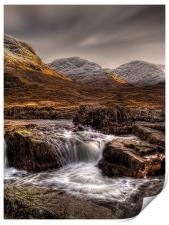 The River Etive, Scotland, Print