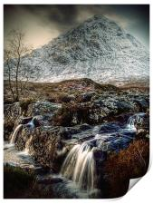 The Buachaille Etive Mor, Scotland, Print