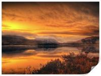 Loch Ba Sunrise, Scotland, Print