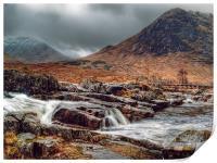 The River Etive Scotland, Print