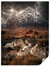 The Buachaille Glen Coe, Print