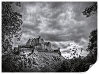 Edinburgh Castle Scotland, Print