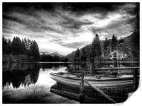 Loch Ard Scotland, Print
