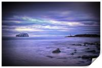 Bass Rock Scotland, Print