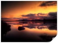 Loch Ba Sunrise, Print