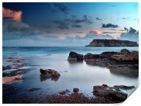 Evening Light On St. Georges Island, Print