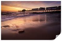 Early Morning Glow over Southwold, Print