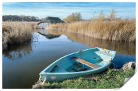 Hickling Boathouse, Print