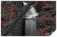 waterfall, Print